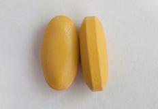 Macro pilules Image libre de droits