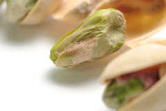 Macro Pistachio Royalty Free Stock Photography