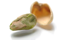 Macro Pistachio Stock Photo