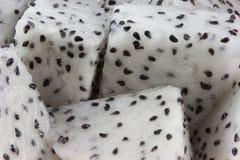 Macro Pitaya o pitahaya Fotografia Stock