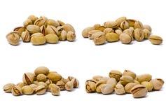 macro positionnement de pistache Image libre de droits