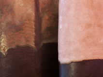 Macro pottery background Royalty Free Stock Photo
