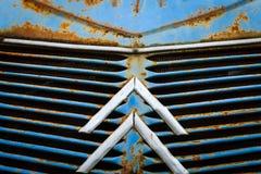 Macro primo piano della griglia anteriore Fotografia Stock Libera da Diritti