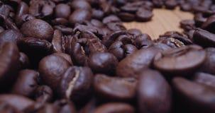 Macro Probe Shot of Coffee Beans.