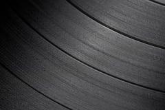 Macro projectile d'enregistrement de vinyle photographie stock
