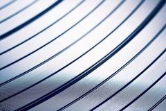 Macro projectile d'enregistrement de vinyle photo stock