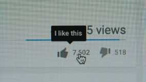 MACRO: Pushing a Like icon on a Youtube