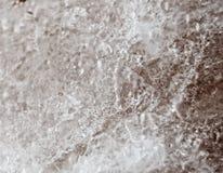 Macro quartz Crystal Black et blanc 1 Images stock