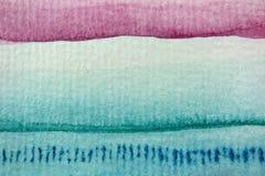 Macro Rainbow Watercolor 1 Stock Image