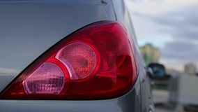 Macro rear lamp Royalty Free Stock Image