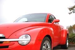 Macro red car Stock Images