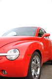 Macro red car Royalty Free Stock Photo