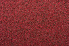 Macro Red Sandpaper Royalty Free Stock Photography
