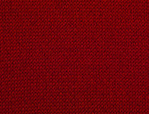 Macro red sweater III Royalty Free Stock Photography