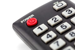 macro of remote control detail Stock Photos