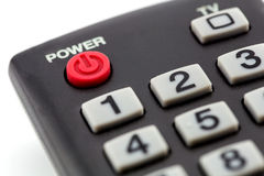 macro of remote control detail Royalty Free Stock Images