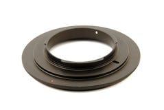 Macro reverse ring for DSLR \ SLR camera Royalty Free Stock Photo