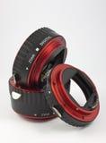 Macro ring. Equipment to create a macro photo Royalty Free Stock Photo