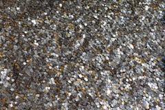 Macro of RMB coins Stock Photo
