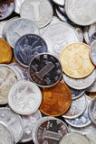 Macro of RMB coins Stock Photography