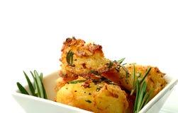 Macro Roast Potatoes 2 Stock Photos