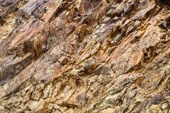Macro Roche d'élément, texture de pierre Montagnes de Caucase Photos stock