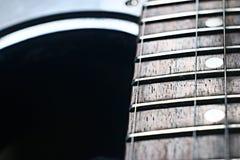 Macro roche d'instrument de musique de guitare Photo libre de droits