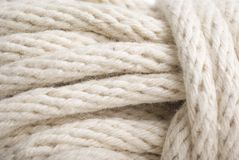 Macro of Rope knot Royalty Free Stock Photography
