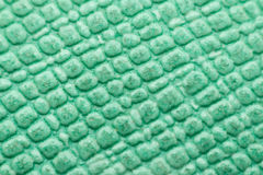 Macro of rubber gym floor texture surface Royalty Free Stock Photos