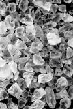 Macro salt. A closeup up shot of salt crystals Stock Photography