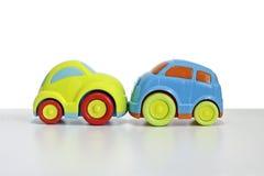 Macro schot van een stuk speelgoed auto Royalty-vrije Stock Afbeeldingen