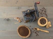 Macro schot van koffiebonen Royalty-vrije Stock Foto's