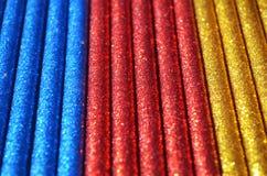 Macro scintillante del fondo di colori Fotografia Stock Libera da Diritti
