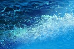 Macro sea waves Stock Photography