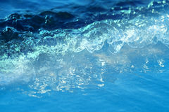 Macro sea waves Stock Photos