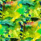Macro seamless texture africa green oil painting royalty free stock images