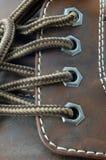 Macro of a shoe Royalty Free Stock Photo