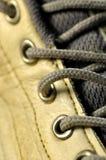 Macro Shoelace Stock Photo