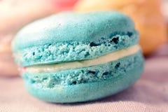 Macro shoot of macaroon cookie Stock Image