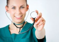 Macro shoot of medical person Stock Photography