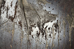 Macro shoot of small  part of   grunge bench seat 7. Close-up of  old, decaying,peeled ,scratched, rough,brown and grey wooden board surface Royalty Free Stock Photos