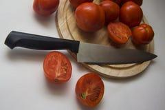 Macro shoot of tomatoes Royalty Free Stock Image