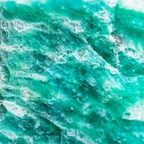 Natural texture of polished amazonite mineral Royalty Free Stock Image
