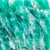 Macro shooting of texture of amazonite mineral Stock Photo