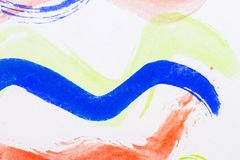 Abstract watercolor art background Stock Photo