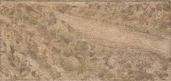Macro shot of a beige sandstone brick Stock Image