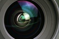 Macro shot of a camera lens Stock Photos
