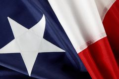 Macro shot of Chilean flag royalty free stock images