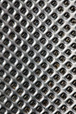 Macro shot of chrome grater Royalty Free Stock Photo