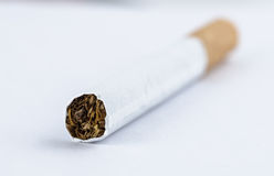 Macro shot of cigarette Stock Images